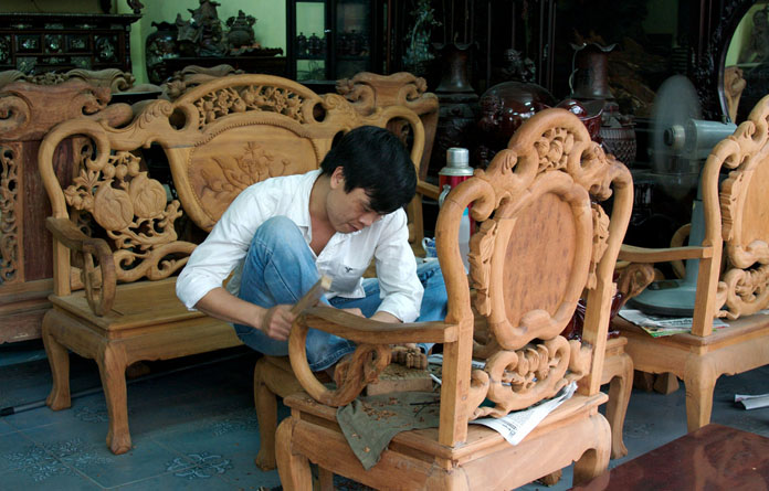 an analysis of the art of tablemaking in furniture making Earlier furniture making was a handicraft, going back to the most ancient civilizations history examples of ancient furniture are extremely rare, but there is considerable knowledge of the pieces made by craftsmen in china, india, egypt, mesopotamia, greece, and rome from pictorial representations.